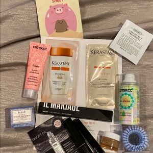 NWT 12 piece glam bag beauty bundle deal